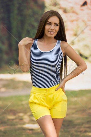Pantaloni Scurti Artista Idealist Yellow