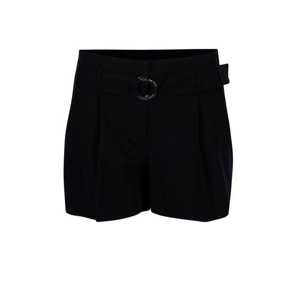 Pantaloni scurti bleumarin cu talie elastica – Dorothy Perkins