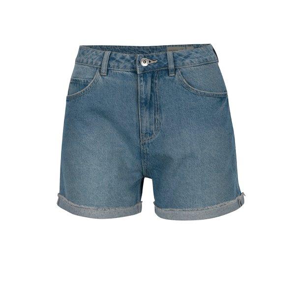 Pantaloni dama scurti VERO MODA Nineteen albastru deschis din denim