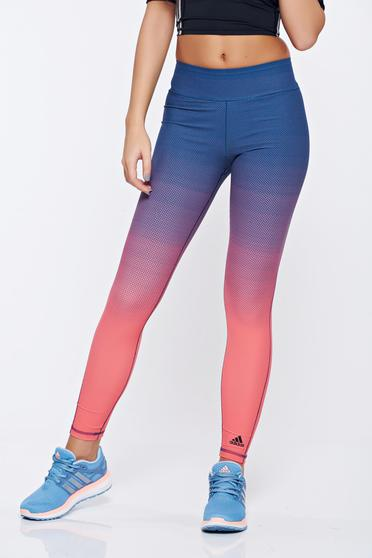 Colanti Adidas roz sport din material elastic cu buline