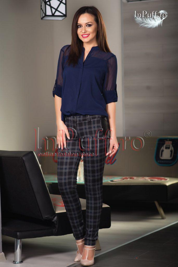 Pantaloni dama jerse carouri – PANTALONI MBG