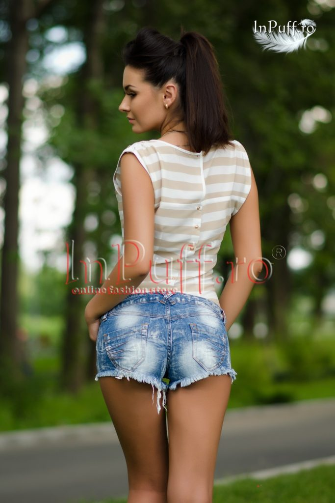 Pantaloni de blugi scurti comozi pentru zilele de vara Escape